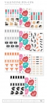 Valentine Pin-Ups Patterned Paper Collection (22 sheets)