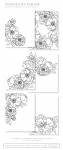 Peonies on Parade Coloring Sheets (18 sheets)