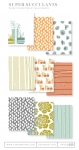 Super Succulents Patterned Paper Collection (36 sheets)