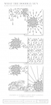 What the Doodle: Sun Coloring Sheets (18 sheets)