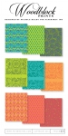 Woodblock Prints Patterned Paper Collection (36 sheets)