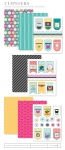 Clipsters Patterned Paper Collection (16 sheets)