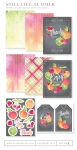 Still Life: Summer Patterned Paper Collection (16 sheets)