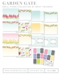 Garden Gate Patterned Paper Collection (32 sheets)