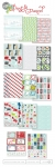 Post & Parcel Patterned Paper Collection (14 sheets)