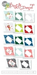 Post & Parcel Gift Card Cuts Paper Collection