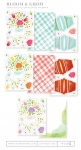 Bloom & Grow Patterned Paper Collection (16 sheets)