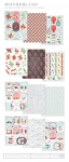 Wonderland Patterned Paper Collection (24 sheets)