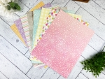 Share Your HeArt: Basket of Blossoms Patterned Paper Collection (24 sheets)