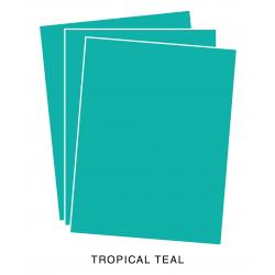 Perfect Match Tropical Teal Cardstock (12 Sheets)