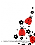 Pop Couture - Ladybug Card Set
