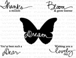 Signature Series: Butterfly Mini Stamp Set + Die Bundle