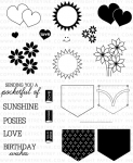 Back Pocket Basics Stamp Set + Die Bundle