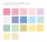 Perfect Match Pastels Cardstock Sampler (34 sheets)