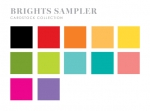 Perfect Match Brights Cardstock Sampler (24 sheets)
