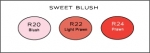 Copic Color Collection - Sweet Blush
