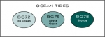 Copic Color Collection - Ocean Tides