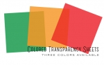 Colored Transparency Sheets - New Leaf (6 sheets)