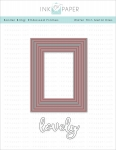 Border Bling: Embossed Frame Die