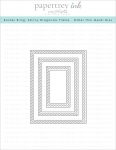 Border Bling: Skinny Diagonals Frame Die