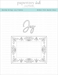Border Bling: Joy Frame Die