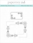 Border Bling Flower Frame