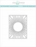 On the Border: Sunburst Frame Die