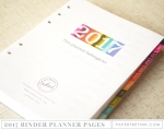 Moments Inked 2017 Memory Planner - Binder Edition