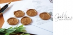 Modern + Marbled Wax Seals (set of 5)