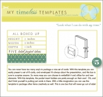 My Timeless Templates - All Boxed Up