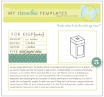 My Timeless Templates - For Keep {sake}