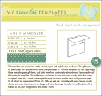 My Timeless Templates - Music Makeover