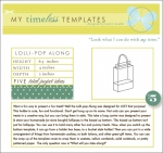 My Timeless Templates - Lolli-pop Along