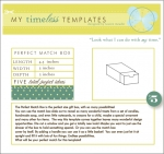 My Timeless Templates - Perfect Match Box