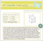 My Timeless Templates - Bun in the Oven