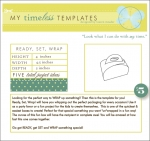 My Timeless Templates - Ready Set Wrap