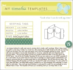 My Timeless Templates - Keeping Tabs