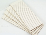 "Paper Basics - Vintage Cream Notepads (10 - 2.5"" x 8"" notepads)"