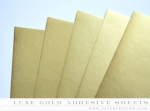 Paper Basics - Luxe Gold Adhesive Sheets (5 Sheets)