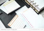 "Paper Basics - White Post-It Note Pads 3"" x 6"" (2 pads)"
