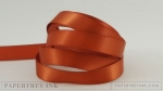 "Terracotta Tile 1/2"" Satin Solid Ribbon (5 yards)"