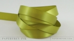 "Simply Chartreuse 1/2"" Satin Solid Ribbon (5 yards)"