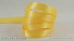 "Harvest Gold 1/2"" Satin Solid Ribbon (5 yards)"