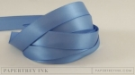 "Blueberry Sky 1/2"" Satin Solid Ribbon (5 yards)"