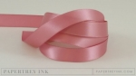 "Autumn Rose 1/2"" Satin Solid Ribbon (5 yards)"