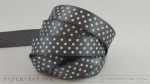 "Smokey Shadow 5/8"" Satin Dots Ribbon (5 yards)"