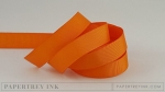 "Orange Zest 5/8"" Grosgrain Ribbon (5 yards)"