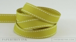 "Simply Chartreuse 5/8"" Saddle Stitch Ribbon (5 yards)"