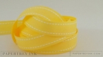 "Harvest Gold 5/8"" Saddle Stitch Ribbon (5 yards)"