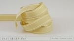 "Fine Linen 5/8"" Saddle Stitch Ribbon (5 yards)"